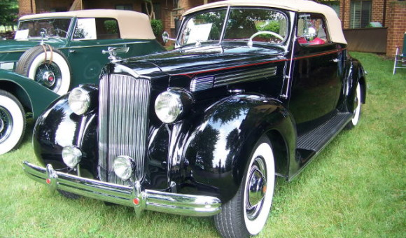 1938 Packard Coupe Convertible