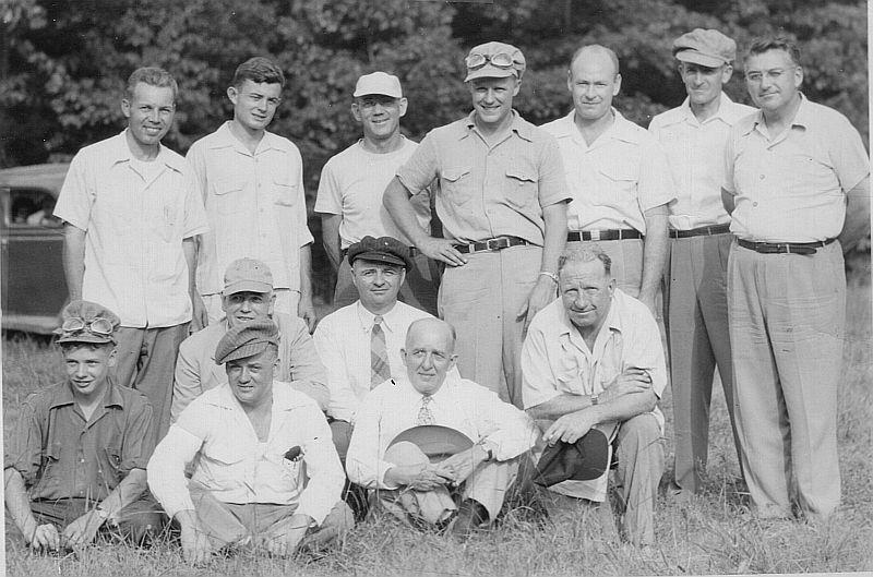 Picrture of founding members 1950