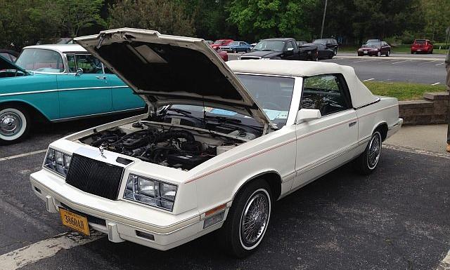 Image - 1982 Chrysler LeBaron Convertible.