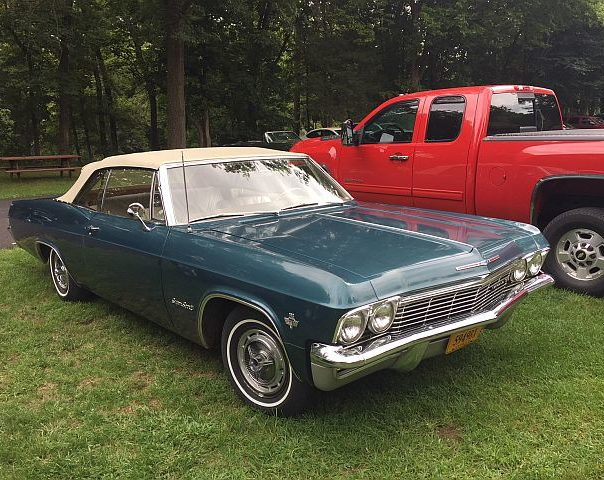 An All Original 1965 Chevrolet Impala SS Convertible Belonging To One Of  The Tri County Folks.